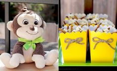 monkey themed party.  We have this same 'ha ha'