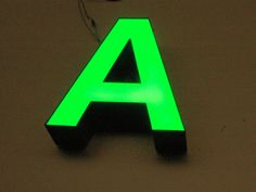dimensional LED signs and lettering