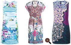 Sommerkleider lang, knielang & kurz 2015 – bunte Designer Kleider