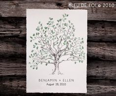 Baci Designer: Wedding Wednesday | bleu de toi Guest Book Fingerprint Tree Wedding Planning Book, Wedding Guest Book, Our Wedding, Party Planning, Summer Wedding, Wedding Stuff, Thumbprint Tree, Fingerprint Tree, Fingerprint Wedding