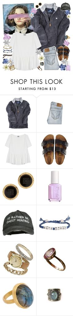 """""""forgive yourself for accepting less than you deserved - but don't do it again"""" by my-pink-wings ❤ liked on Polyvore featuring Hollister Co., Rachel Comey, Birkenstock, Susan Caplan Vintage, Essie, Venessa Arizaga, Dorothy Perkins and Marchesa"""