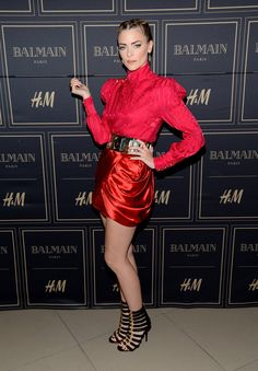 04572ee2 All Your Favourite Style Stars Went HAM Shopping Balmain x H&M Last Night