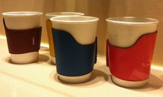 Leather Cup-Holders by Hermes