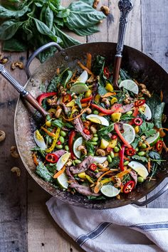 Thai Steak Salad from Half Baked Harvest. Easy, healthy and packed with flavor