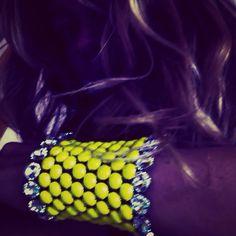 Bracciale Soraia realizzato a mano prodotti brevettato