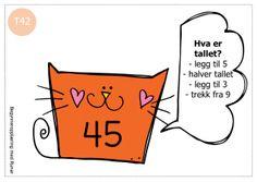 tallkatter2 Brain Teasers, Runes, Teacher, Education, Numbers, Children, First Grade, Young Children, Brain Games