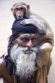 iseo58:  Holy Men of Varanasi Photo by Lynzy Billing