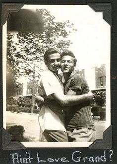 Vintage Photographs of Gay Couples Had a hard time deciding which photo to pin. So many adorable couples!Had a hard time deciding which photo to pin. So many adorable couples!