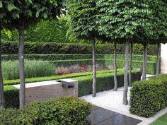 Parisian park garden for the small yard.