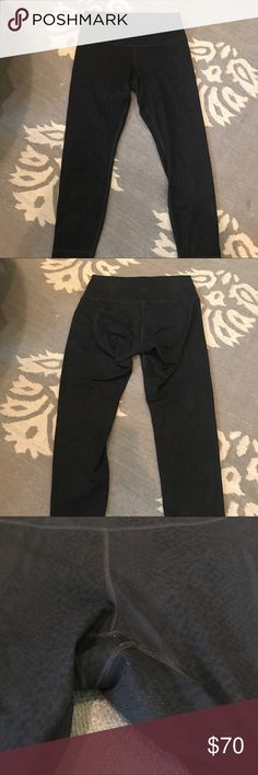 Lululemon High Times Legging in RARE black python EUC! Lululemon high times legging in rare black python print! Very flattering on! High waist band to smooth everything out. Pants are a 7/8 length. Minimal pilling as shown but not noticeable when wearing. lululemon athletica Pants Leggings
