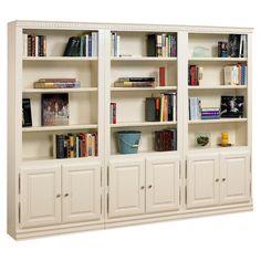 """A&E Wood Designs Hampton 84"""" Bookcase"""