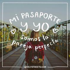 """3,208 Me gusta, 9 comentarios - Lovely Streets (@lovelystreetsofficial) en Instagram: """"Nos entendemos a las mil maravillas y casi nunca discutimos... tú y yo, querido pasaporte,…"""""""