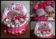 Baby Gift Baskets on Modern Magazin Cool Diy Projects, Diy Crafts For Kids, Craft Projects, Diy Baby Gifts, Baby Shower Gifts, Baby Shower Announcement, Towel Cakes, Diy Ideas, Craft Ideas