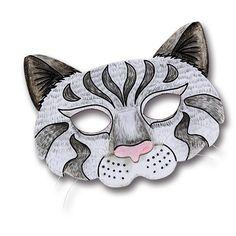 Katzenmaske, Faschingsmaske   Wir lieben die Faschingszeit - und wir lieben diese süße Katzenmaske: http://www.trendmarkt24.de/kindermasken-katze-6er-pack.html#p