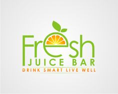 Fresh Juice Bar logo design contest at Logo Arena. All the logo designs submitted by Elvien_daru Juice Bar Menu, Fresh Juice Bar, Organic Juice Bar, Juice Ad, Juice Logo, Food Logo Design, Logo Design Contest, Smoothie Company, Coffee Shop Names