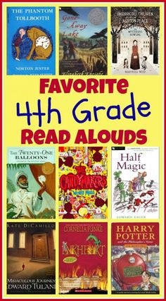 Favorite books to read aloud to 4th graders. Lots of great suggestions on this list!