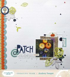 at the patch SBC Scrapbooking Circle November Kit Sample