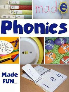 Homemade phonics kits