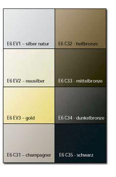 Fassadenfarben farbmuster  Bildergebnis für alu eloxal farben | Architektur - Fassaden ...