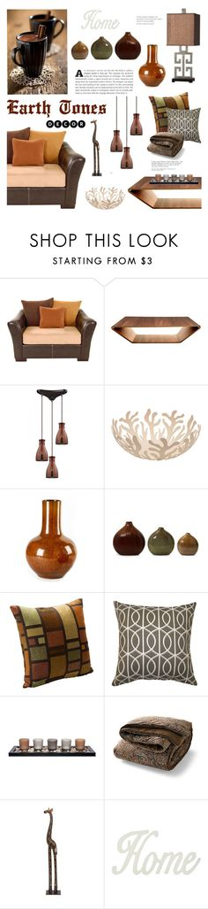 """""""Earth Tones home decor"""" by cly88 ❤ liked on Polyvore featuring interior, interiors, interior design, home, home decor, interior decorating, Swedese, Alessi, Tozai and SIScovers"""