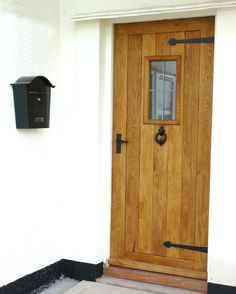 Ox-Bow External Oak Door, OxBow Oak Front Door. #OakFrontDoor #ExternalOak Door http://www.ukoakdoors.co.uk/external-doors/ox-bow-external-solid-oak-door.html