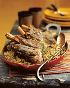 Braised Lamb Shanks with Lentils | Perfect for both Passover and ...