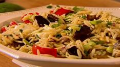 Orzo with roasted vegetables - Ina Garten