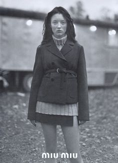 styleregistry: Miu Miu   Fall 1997.Audrey Marnay Photo Glen Luchford