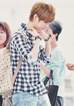 Luhan * MCM backpack