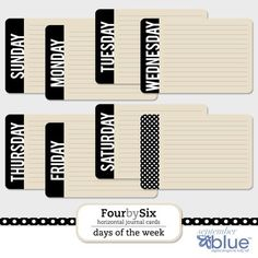 Journaling cards  #free printables #free download #note cards #stationery #scrapbooking #project life
