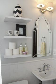 Inspirational White Bathroom Wall Cabinet with towel Bar