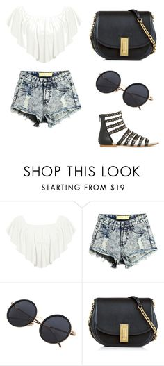 """""""summer outfit 🌞"""" by iulia-ab ❤ liked on Polyvore featuring WearAll and Marc Jacobs"""