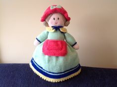 And the other half of my Topsy Turvey Doll.