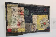 One of the great things about going to shows like The Festival of Quilts is discovering new textile artists whose work you can admire...