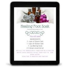 Making a homemade foot scrub with coconut oil is easier than you think! Including FREE printable gift tags for your homemade foot scrub with coconut oil! Deodorant Recipes, Homemade Deodorant, Homemade Facials, Diy Natural Deodorant, Salt Scrub Recipe, Oils For Scars, Free Printable Gift Tags, Diy Scrub, Feet Care