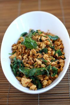 Dukan recipes you can stick with: Thai Basil Chicken