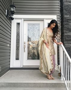 Indian salwar kemeez Click VISIT link above to read Indian Suits Punjabi, Punjabi Suit Simple, Simple Indian Suits, Punjabi Salwar Suits, Punjabi Dress, Indian Attire, Indian Wear, Salwar Kameez, Patiala Suit