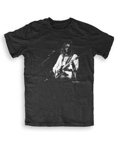 Neil Young - Music T-shirts by Howard Barlow S to XXL Unisex - black Neil Young, Unisex, Tees, Mens Tops, T Shirt, Clothes, Black, Music, Fashion