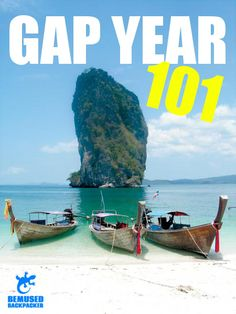 Gap Year 101: Learn the basics, travel like a pro!  Gap Year 101 is full of articles broken up into distinct, easy to manage sections so you can plan your backpacking trip and travel like a pro from day one!