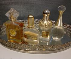 My mom usually gives me perfume for Christmas.  I look forward to this all year!  It is a real treat for me!