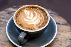 Cappuccino at Two Guns Espresso, Manhattan Beach, CA