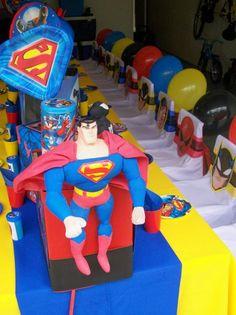 "Superman 31/"" SuperShape Foil Balloon DC Superhero Birthday Party Decorations"