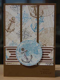 Julie's Japes Anchor card