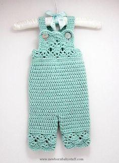 Crochet Baby Dress Crochet Baby Girl Overalls in Robins Egg Blue, Sizes Newborn… Crochet Romper, Crochet Bebe, Baby Girl Crochet, Crochet Baby Clothes, Crochet For Kids, Crochet Ideas, Crochet Patterns, Crochet Baby Blanket Beginner, Baby Knitting