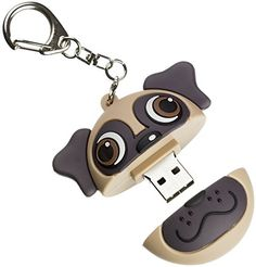 My Doodles by Trendz 8GB USB Fun Novelty Children's Character Flash Drive Memory Stick With Keyring Attachment Suitable for All Ages - Pug My Doodles http://www.amazon.co.uk/dp/B00NV9MZBE/ref=cm_sw_r_pi_dp_bXicvb067EZ1F