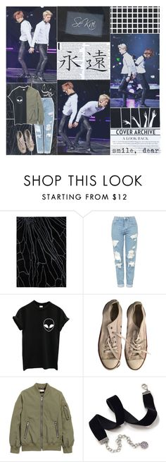 """🌼 BOTEXO ; Round three!"" by k-pop-things-and-such ❤ liked on Polyvore featuring Gandía Blasco, Topshop, Converse and Sweet Romance"