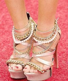 So pretty! They look like my reception shoes, but in heels.