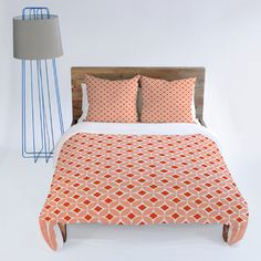 DENY Designs Caroline Okun Persimmon Duvet Cover Collection
