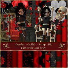 Gerdas Scrap's: Gothic-Scrap