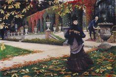 James Tissot - La Lettre 1876